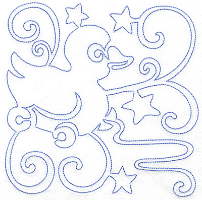 Embroidery Design: Rubber Duckie large 7.03w X 7.07h