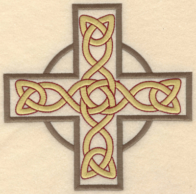 Embroidery Design: Large Greek Cross6.50w X 6.48h