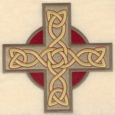 Embroidery Design: Large Greek cross filled6.50w X 6.48h