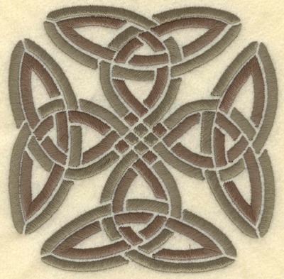 Embroidery Design: Large square cross4.92w X 4.89h