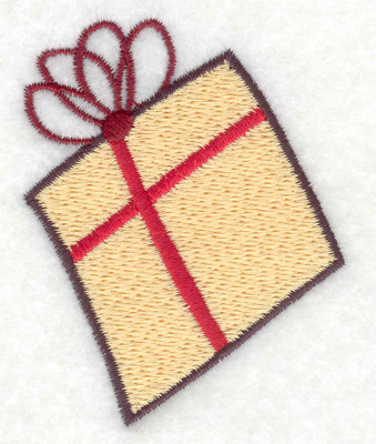 Embroidery Design: Gift Parcel 3 large 2.15w X 2.74h