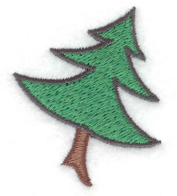Embroidery Design: Christmas tree 1.70w X 2.06h