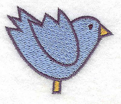 Embroidery Design: Bluebird 2.02w X 1.60h