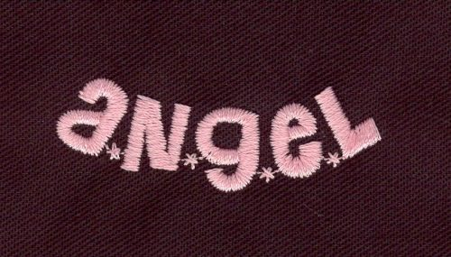 Embroidery Design: Angel2.08w X 1.44h