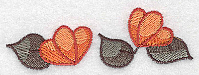 Embroidery Design: Flowers 3.88w X 1.30h