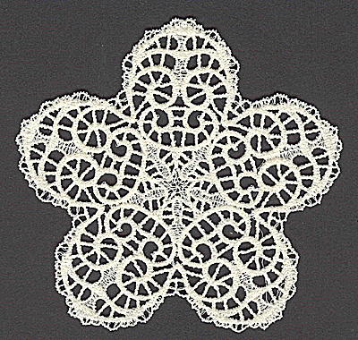 Embroidery Design: Star A large 4.91w X 4.69h