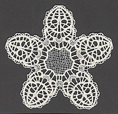 Embroidery Design: Star B large 4.96w X 4.75h