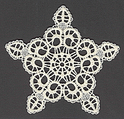 Embroidery Design: Star G large 4.91w X 4.68h