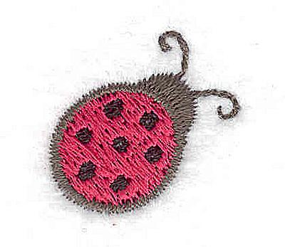 Embroidery Design: Mini ladybug 0.93w X 0.91h