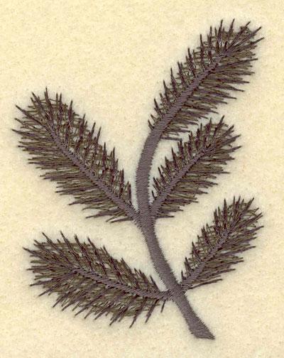 Embroidery Design: Pine Bough2.36w X 3.00h