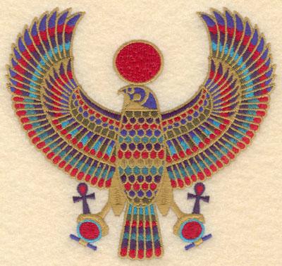 Embroidery Design: Horus5.44w X 5.03h