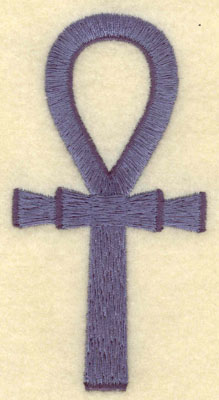 Embroidery Design: Ankh large1.99w X 3.90h