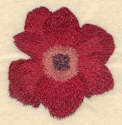 Embroidery Design: Poppy2.89w X 3.04h
