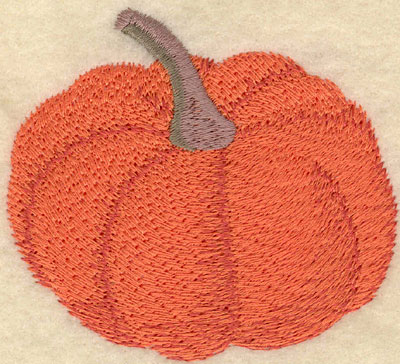 Embroidery Design: Single Pumpkin3.01w X 2.74h
