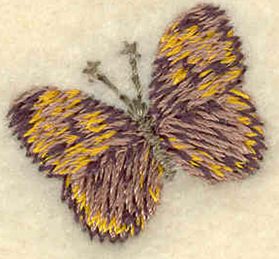 Embroidery Design: Butterfly Mini0.90w X 0.82h