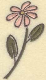 Embroidery Design: Daisy Large1.97w X 3.51h