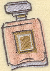Embroidery Design: Perfume Bottle Large2.32w X 3.35h