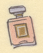 Embroidery Design: Perfume Bottle Small1.79w X 2.58