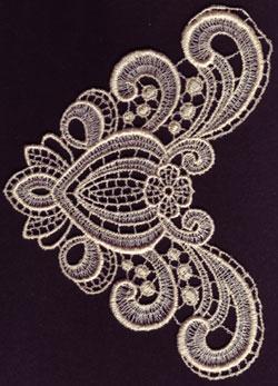 Embroidery Design: Lace 3rd Ed. Vol.1 no.054.31w X 5.95h