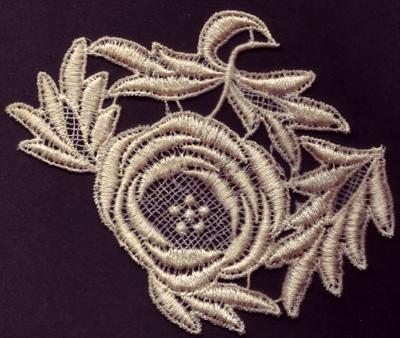 Embroidery Design: Lace 3rd Ed. Vol.4 no.094.06w X 4.13h