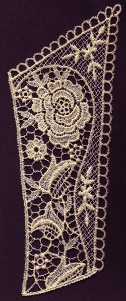 Embroidery Design: Lace 3rd Ed. Vol.3 no.133.13w X 7.90h