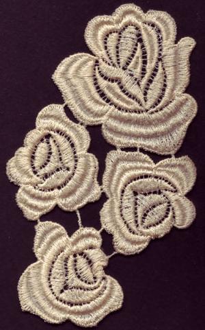 Embroidery Design: Lace 3rd Ed. Vol.4 no.163.65w X 5.30h