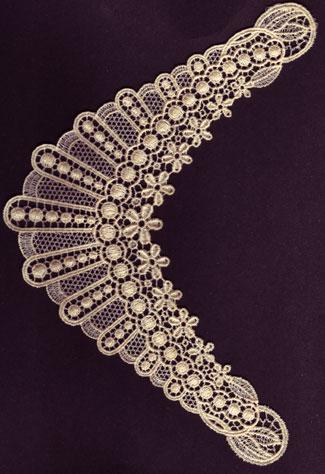 Embroidery Design: Lace 3rd Ed. Vol.4 no.195.91w X 9.04h