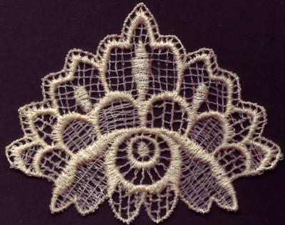 Embroidery Design: Lace 3rd Ed. Vol.4 no.204.02w X 3.18h