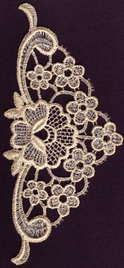 Embroidery Design: Lace 3rd Ed. Vol.2 no.303.27w X 6.92h