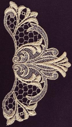 Embroidery Design: Lace 3rd Ed. Vol.1 no.313.73w X 6.50h