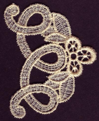 Embroidery Design: Lace 3rd Ed. Vol.6 no.372.31w X 2.79h