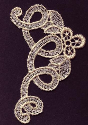 Embroidery Design: Lace 3rd Ed. Vol.6 no.382.70w X 3.60