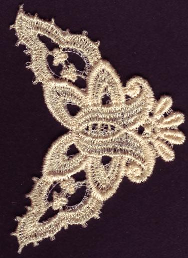 Embroidery Design: Lace 3rd Ed. Vol.3 no.432.57w X 3.39h