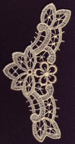Embroidery Design: Lace 3rd Ed. Vol.6 no.502.26w X 4.86h