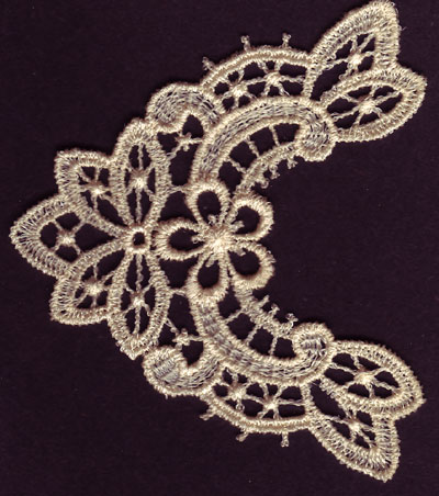 Embroidery Design: Lace 3rd Ed. Vol.6 no.512.99w X 3.45h