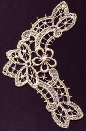Embroidery Design: Lace 3rd Ed. Vol.6 no. 522.98w X 4.15h