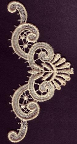 Embroidery Design: Lace 3rd Ed. Vol.1 no.552.75w X 8.48h