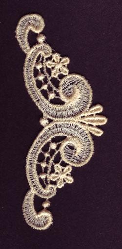 Embroidery Design: Lace 3rd Ed. Vol.1 no.741.99w X 4.09h