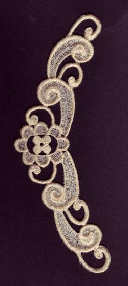Embroidery Design: Lace 3rd Ed. Vol.6 no.783.36w X 7.11h