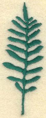Embroidery Design: Medium Fern A1.15w X 3.01h
