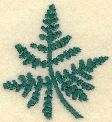 Embroidery Design: Medium Fern F2.09w X 2.24h