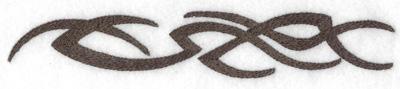 Embroidery Design: Tribal tatoo motif large 1.27w X 7.51h