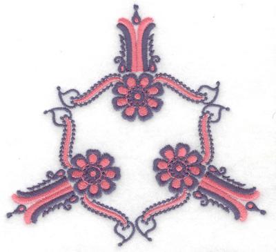 Embroidery Design: Design E large 4.95w X 4.61h