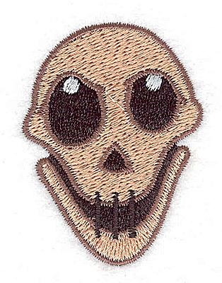 Embroidery Design: Skull 1.66w X 2.24h