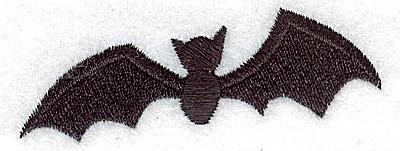 Embroidery Design: Bat 2.94w X 1.13h