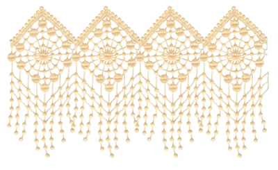 Embroidery Design: Vintage Lace Edition 4 Vol.4 AIMR01A9.10w X 5.22h