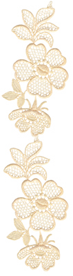 Embroidery Design: Vintage Lace Edition 4 Vol.3 AIMR10A2.39w X 9.75h