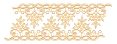 Embroidery Design: Vintage Lace Edition 4 Vol.3 AIMR28A7.57w X 2.85h