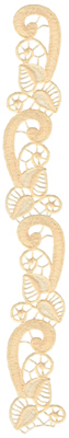 Embroidery Design: Vintage Lace Edition 4 Volume 6 AIMR38A1.76w X 12.20h