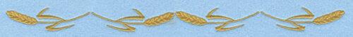 Embroidery Design: Wheat Sheaf Border  10.91w X 0.76h